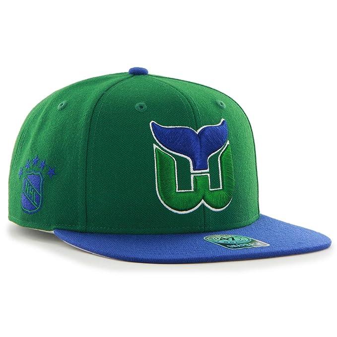 47 Brand. Hartford Whalers Sure Shot Gorra – Verde/Azul Talla ...