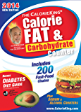 The CalorieKing Calorie, Fat & Carbohydrate Counter 2014