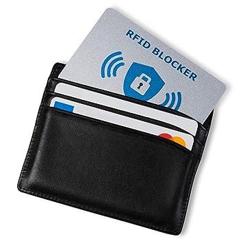 Carte Anti RFID NFC Protection Carte bancaire sans Contact, 1 Suffit, Fini  Les 01240dac366