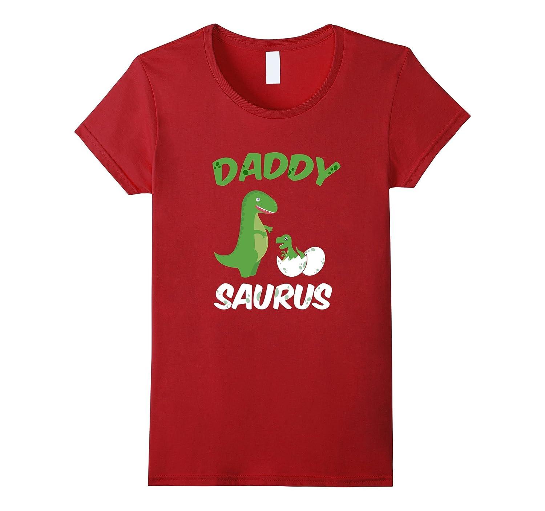 Daddysaurus Father's Day Tshirt Dinosaur Dino Daddy