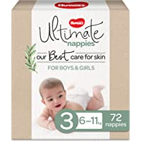 Ultimate Nappies Size 3 (6-11kg) 72 Count