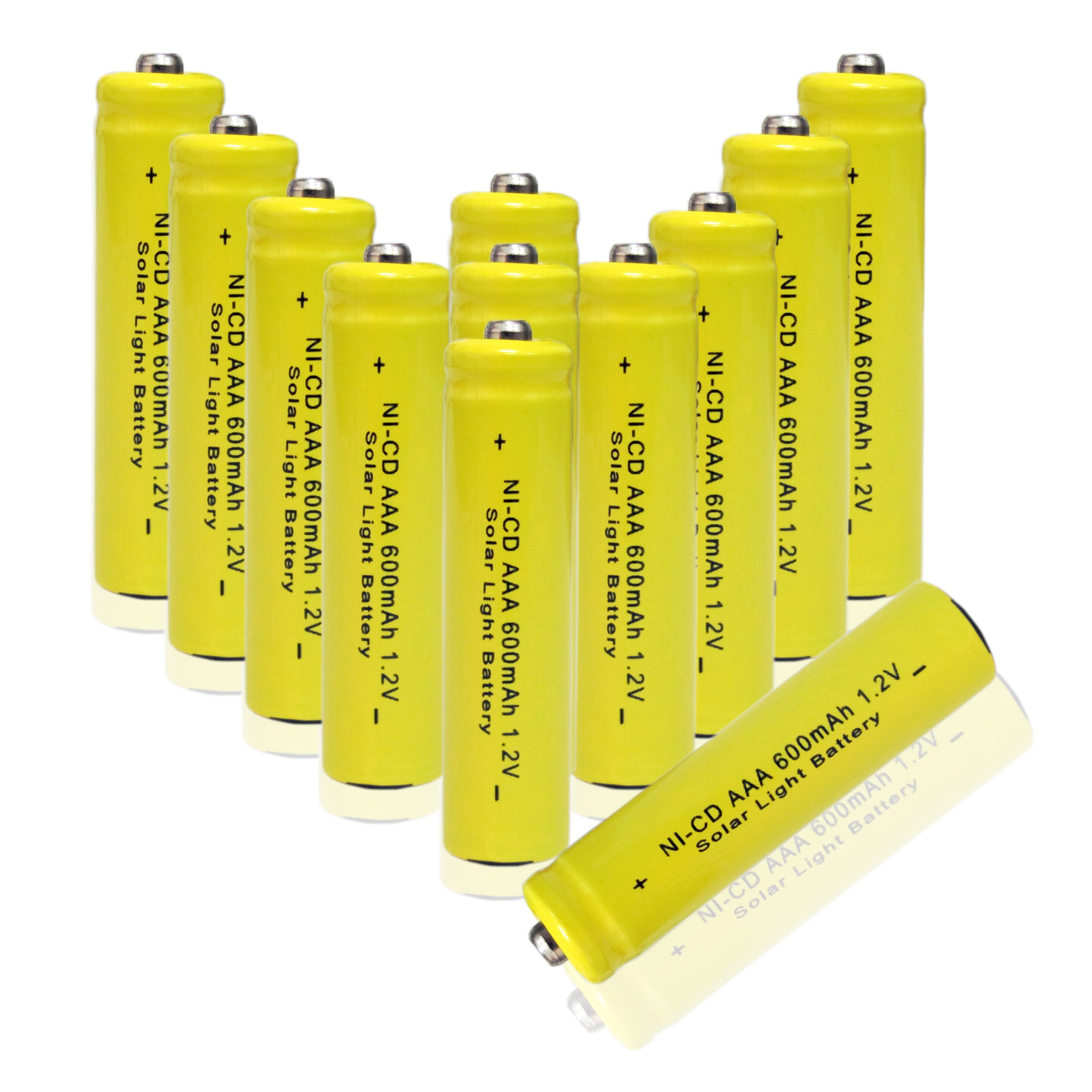 bedfordpower 12x aa nicd rechargeable batteries for
