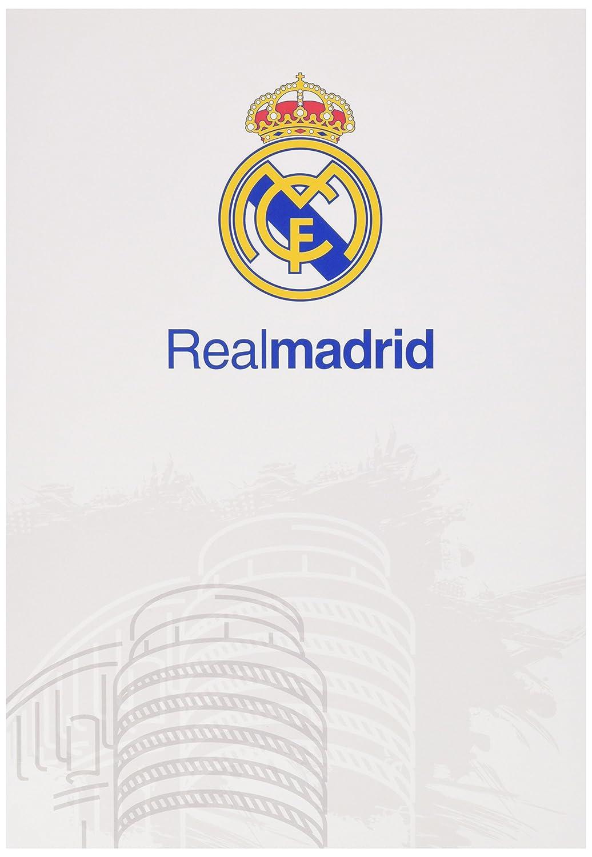 Grupo Erik Editores Tarjeta Felicitacion A4 Real Madrid Blanco
