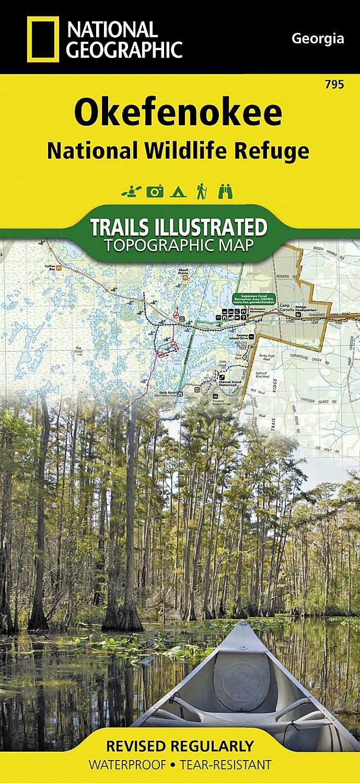 Okefenokee National Wildlife Refuge (National Geographic Trails Illustrated Map) pdf epub