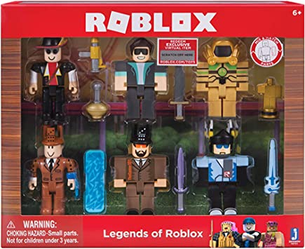 Dominus Promo Codes 2017 Roblox Amazon Com Roblox Action Collection Legends Of Roblox Six Figure Pack Includes Exclusive Virtual Item Toys Games