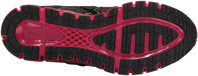 ASICS Women's Gel-Quantum 180 2 Running Shoe B01N070C1W 7.5 B(M) US|Black/Black/Cosmo Pink
