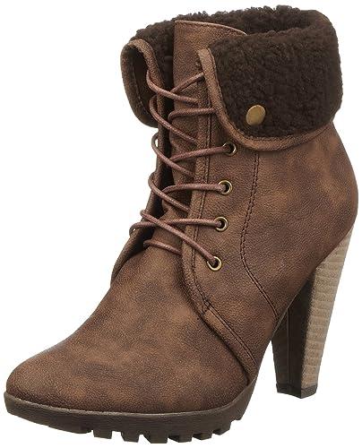 5e24660dd028 Buffalo Girl 239396 GF 1135 PU 134377, Damen Fashion Halbstiefel    Stiefeletten, Braun (