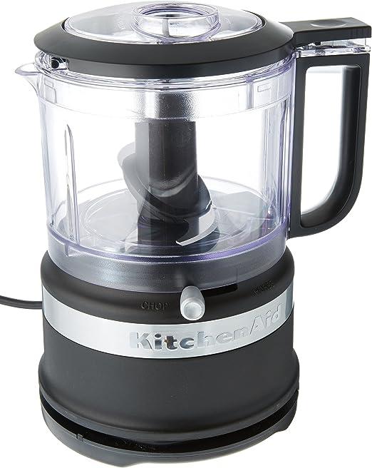 KitchenAid KFC3516BM 3.5-Cup Food Chopper, medium, Matte Black