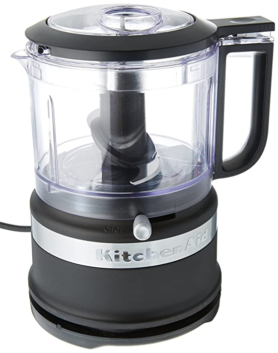 KitchenAid KFC3516BM 3.5-Cup Food Chopper medium Matte Black