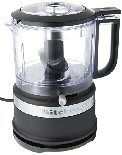 KitchenAid KFC3516BM 3.5 Cup Mini Food Processor, Black Matte