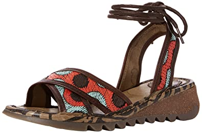 3a60fe77af2 Fly London Women s Tima707Fly Wedge Sandals