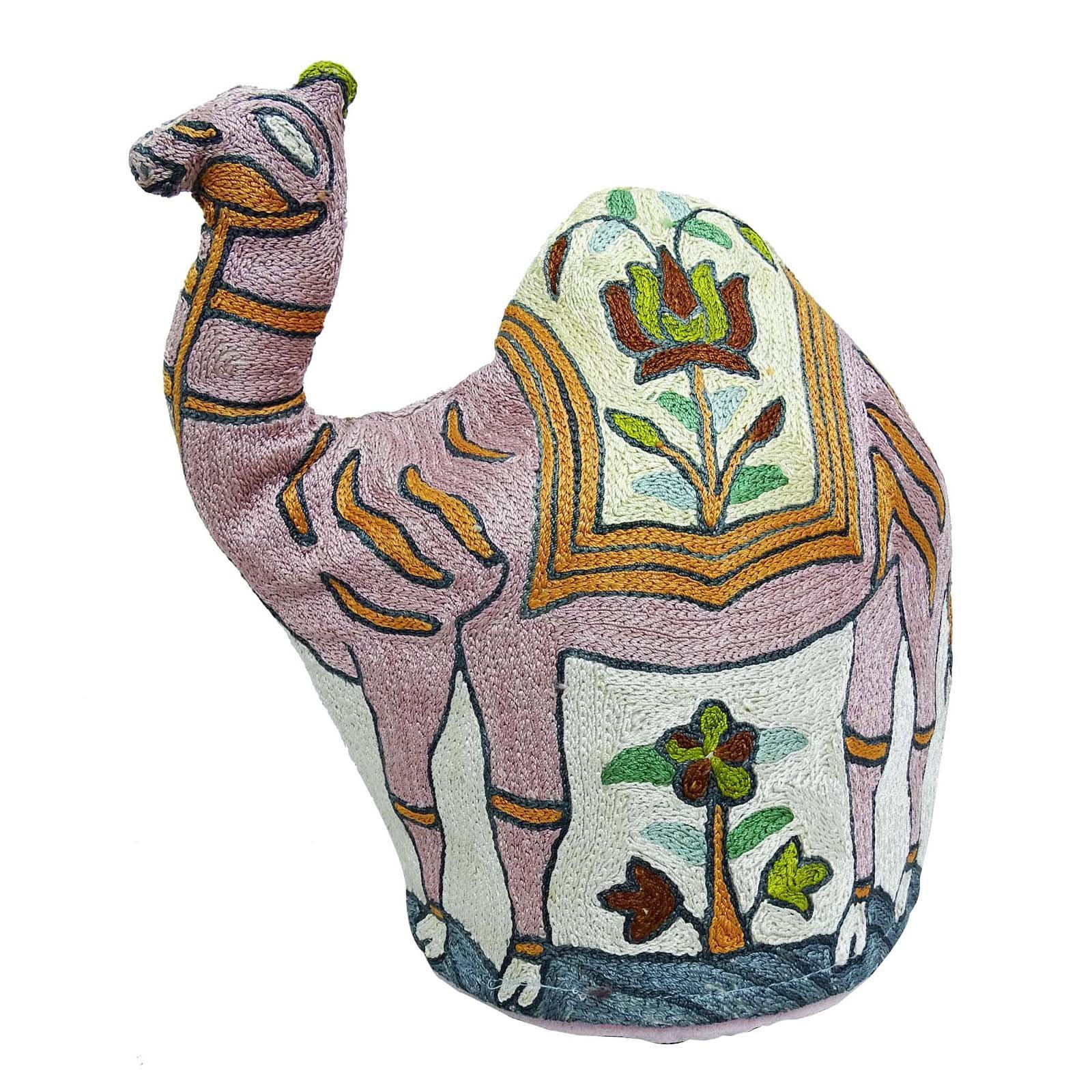 Indian Camel Design Kettle Cover Kashmiri Embroidery Quilted Tea Cover Gift by ibaexports