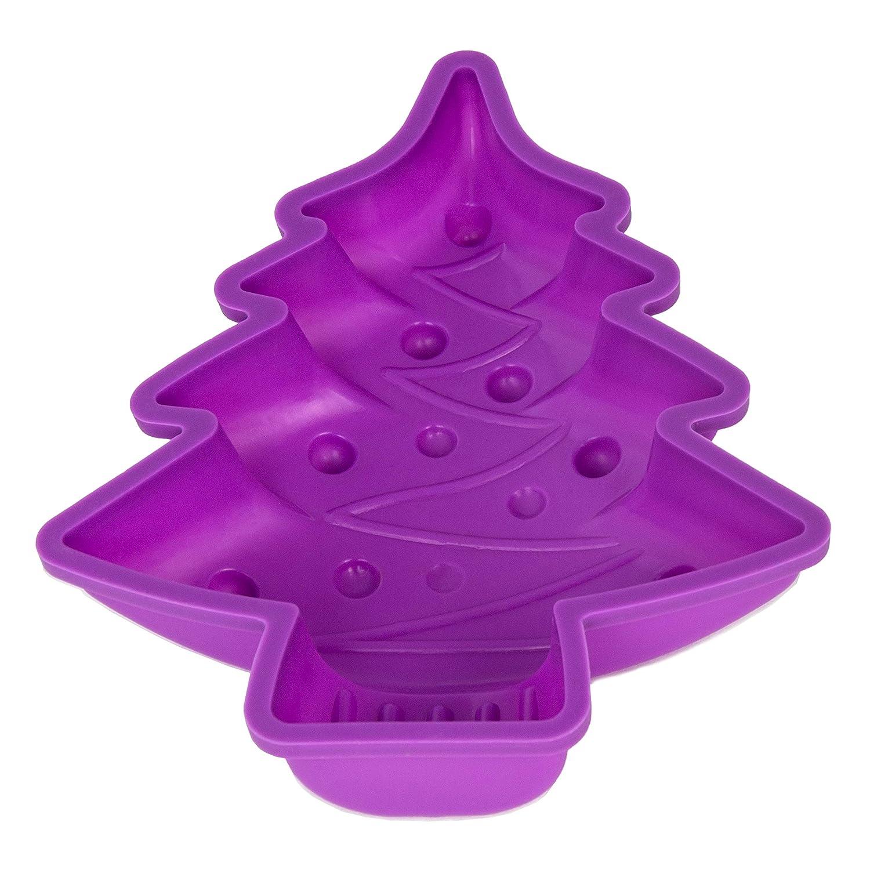 Molde de silicona para pastel con forma de árbol de Navidad ...