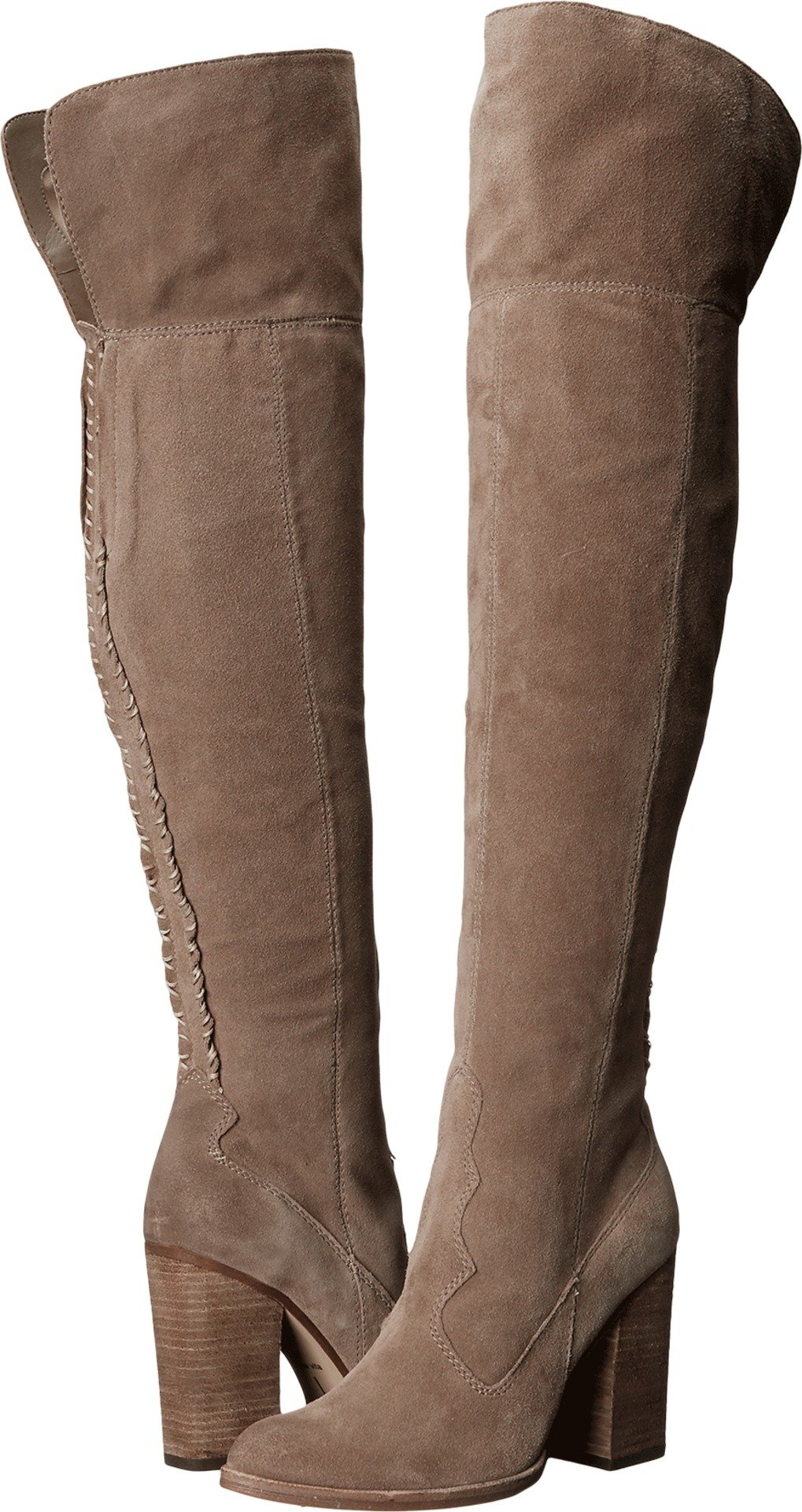 Dolce Vita Women's Cliff Western Boot, Light Taupe, 9.5 M US