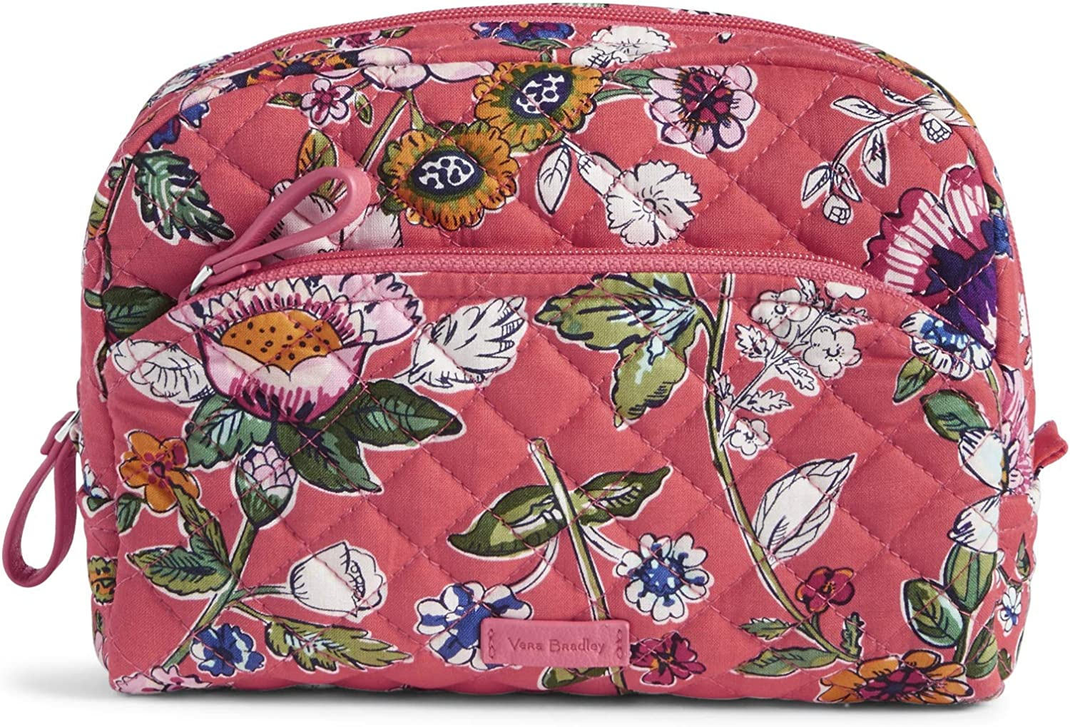 Vera Bradley Iconic Medium Cosmetic, Signature Cotton