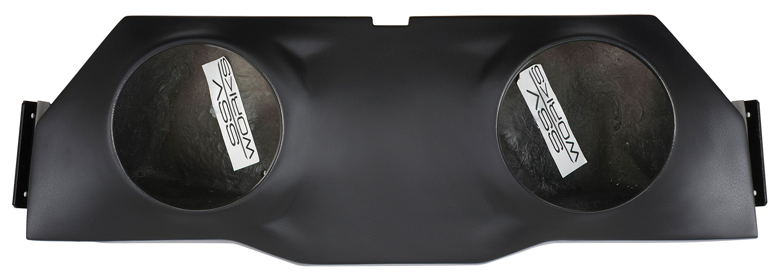 SSV Works Polaris RZR1K and 2015 RZR900 2 seat Overhead Stereo Speaker Pod fits 6 1/2'' Speakers