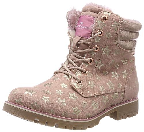 TOM TAILOR für Mädchen, für Frauen Schuhe Schnürstiefelette mit Stern Muster