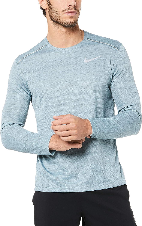 Nike Dry Miler Top Longsleeve, Maglia A Maniche Lunghe Uomo