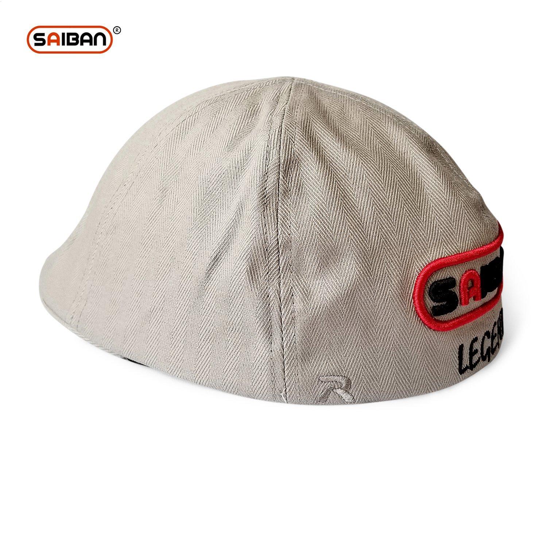 Gatsby//newsboy//Cabbie Hat SAIBAN/® Legend Mens Herringbone Cotton