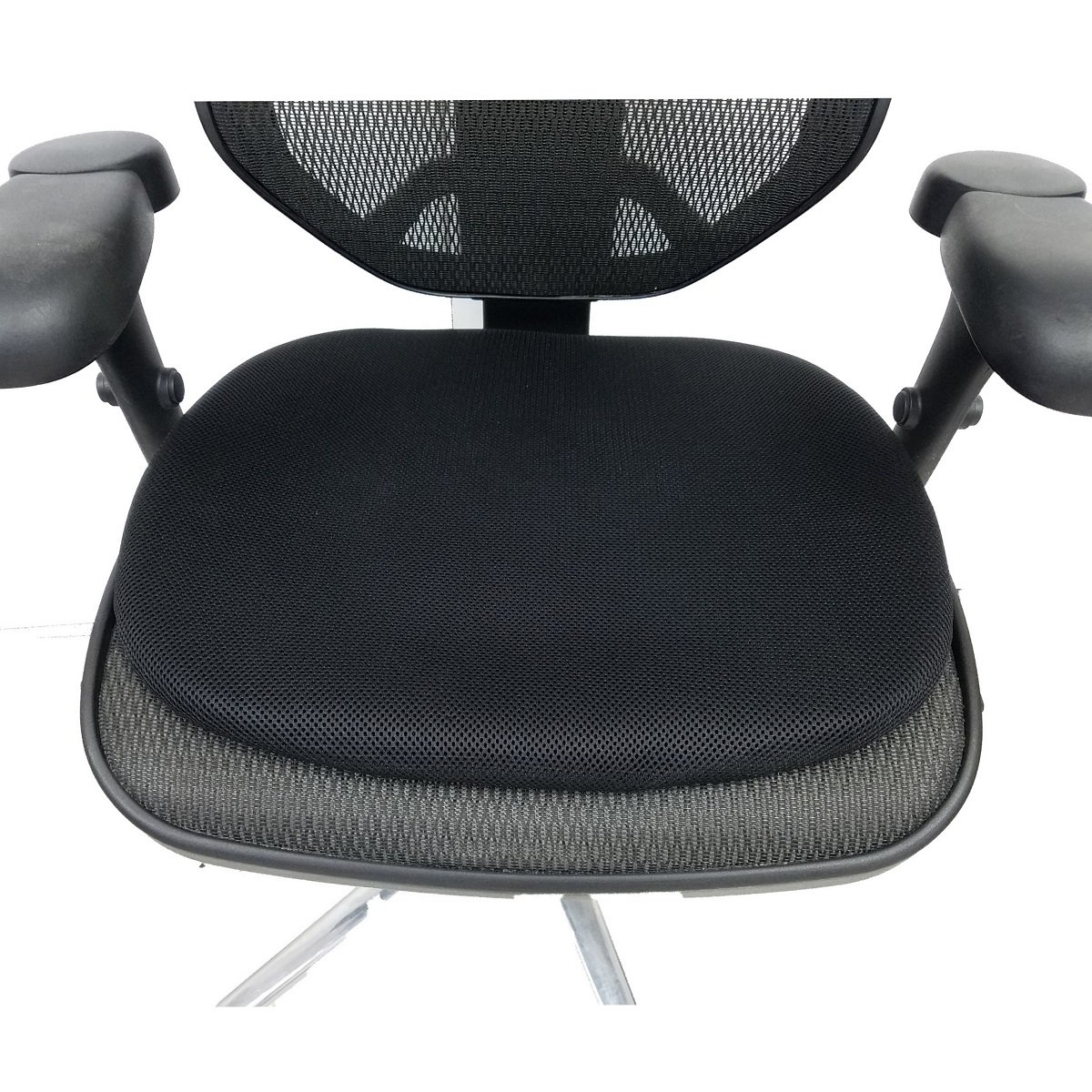 CONFORMAX New ERA Office Gel SEAT CUSHION-L18A 18Lx20FWx14RW, with Removable Cover-AIRMAX