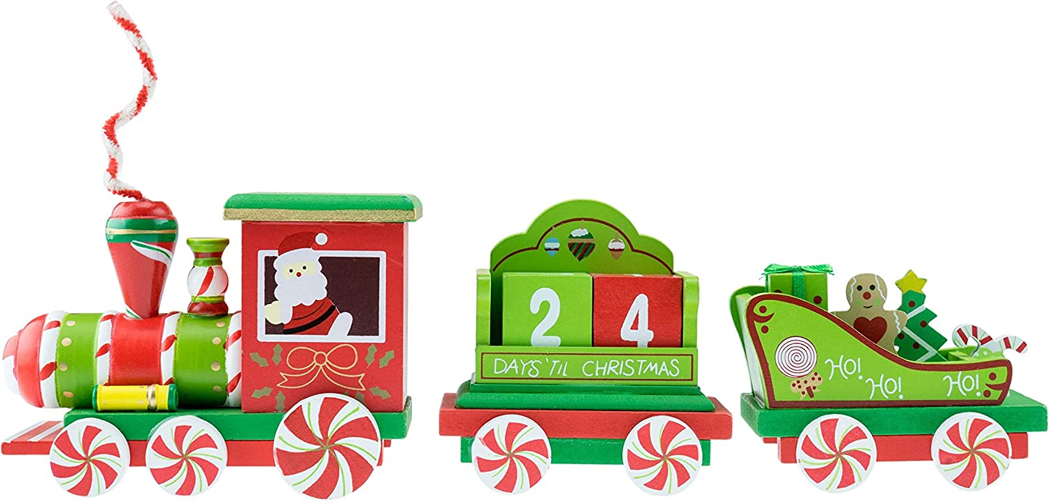 """Clever Creations Train Candy Advent Calendar 