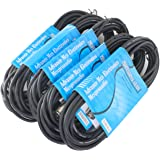 "Alphasonik 6"" Powered 5 PACK 25Ft Black"