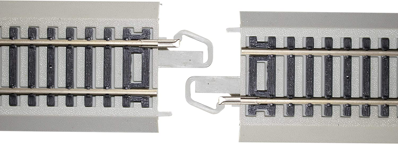 Bachmann 44593 HO,Nickel Silver E-Z Track Flashing Led Bumper