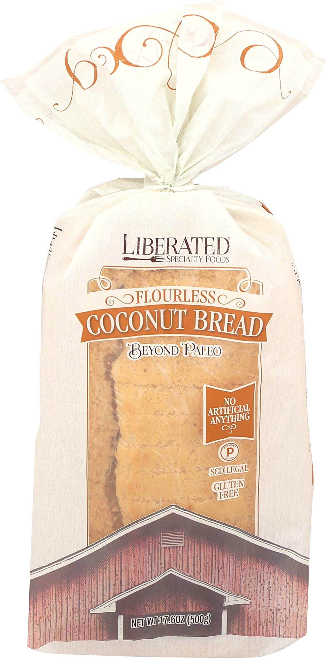Liberated Coconut Flourless Bread, Paleo by Liberated