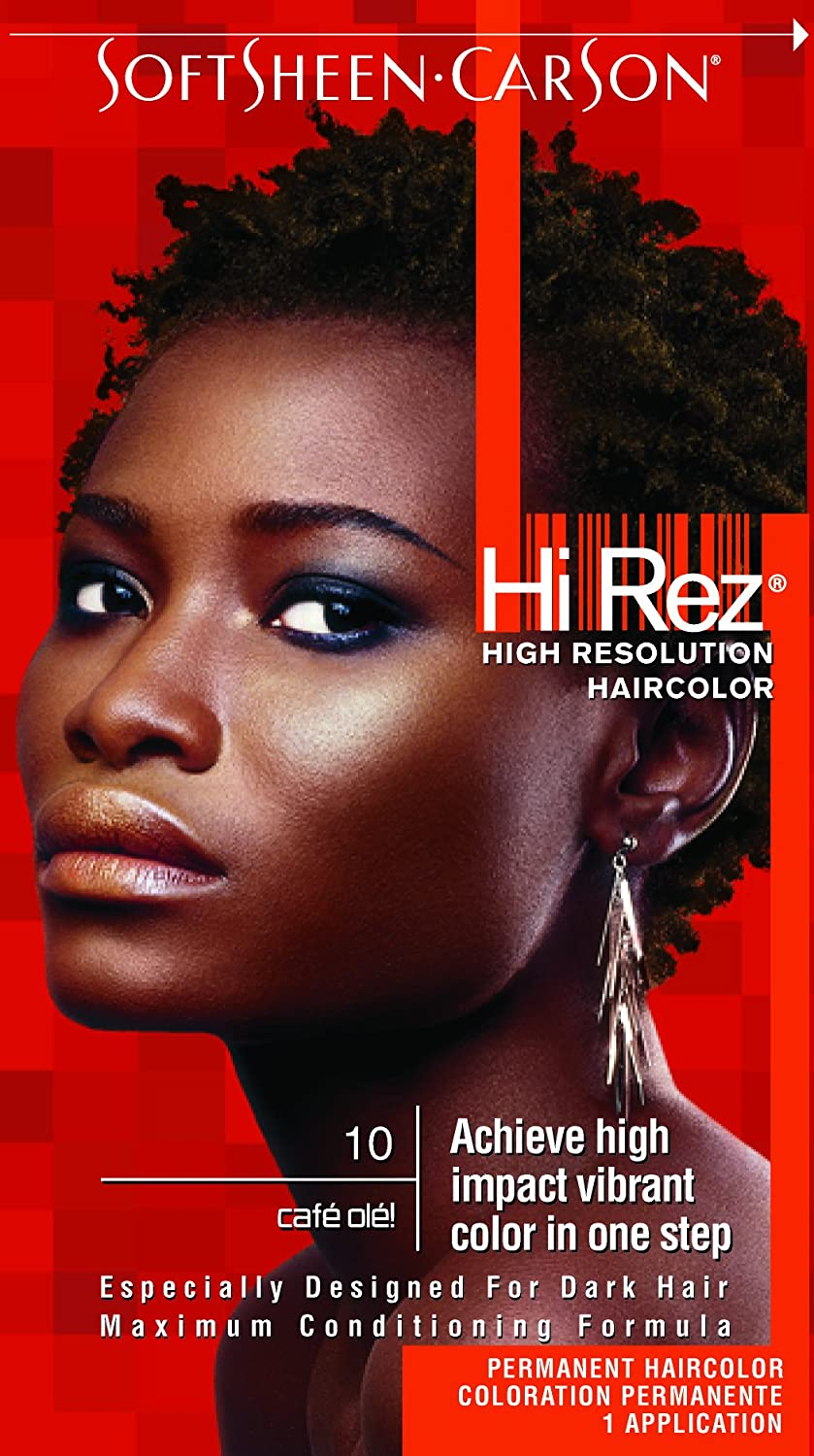 Amazon Hi Rez High Resolution Hair Color 10 Cafe Ole Kit
