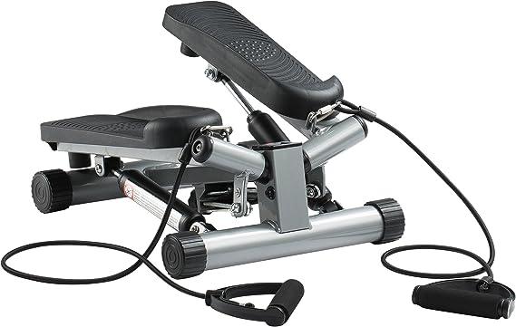 Ultrasport Máquina de step Swing Stepper con cintas de ...