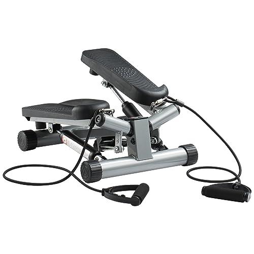 Ultrasport Máquina de step Swing Stepper con cintas de entrenamiento / aparato de entrenamiento Stepper con
