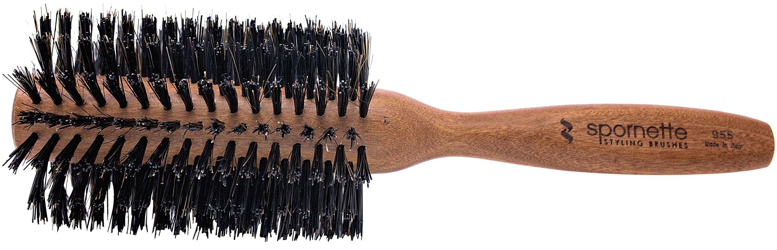 Amazon Spornette Italian 225 Inch Round Boar Bristle Brush