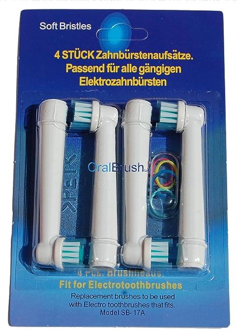 12 x (3 x 4 PK) SB-cepillo de dientes eléctrico para Braun