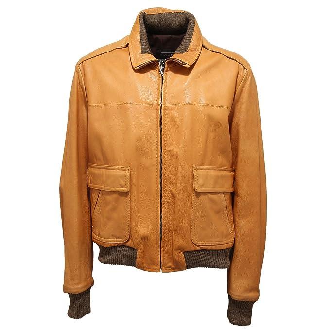 92857 giubbotto ANDREA D' AMICO PELLE giacca giubbino uomo jacket men ...