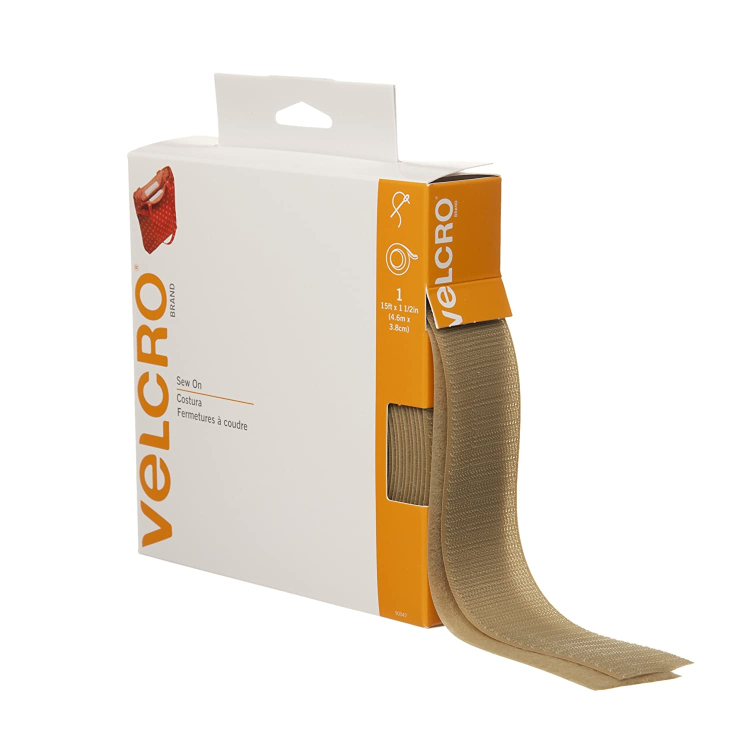VELCRO(R) brand Sew-On Tape 1-1/2