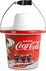 Nostalgia ICMP400COKE Coca-Cola 4-Quart Ice Cream Maker