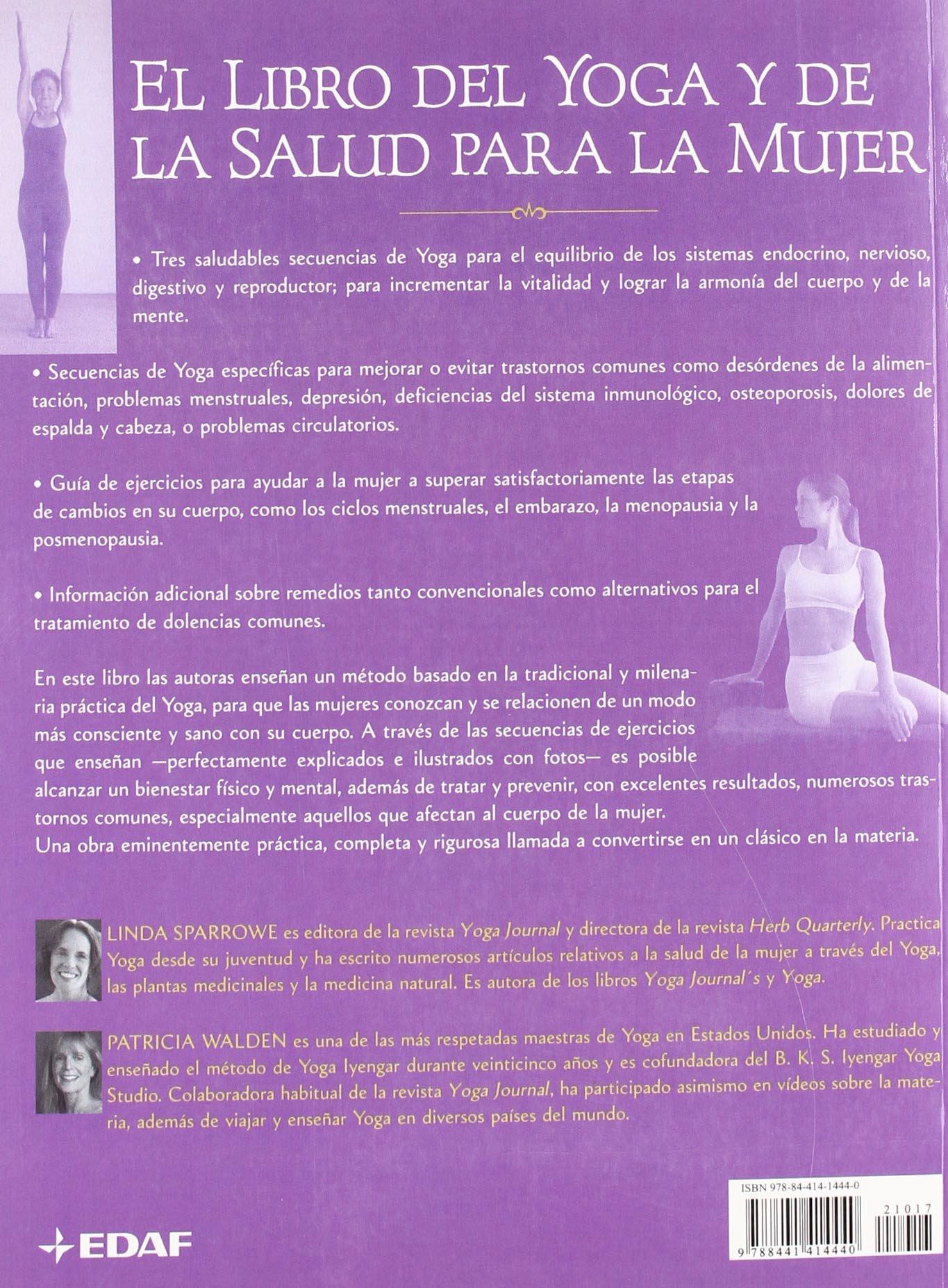 Libro Del Yoga Y D La Salud Para La Muje Luz de Oriente ...