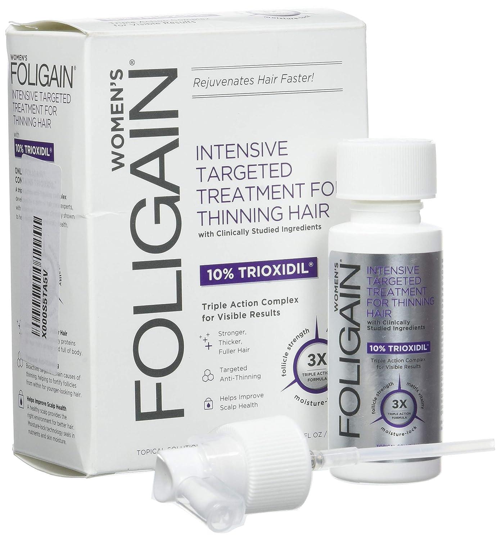 Foligain Shampoo Ricrescita Donna | Trioxidil 2% | Combatte la Calvizie e Rinforza il Cuoio Capelluto | Senza Parabeni e Solfati | Confezione Da 236ml WR Group