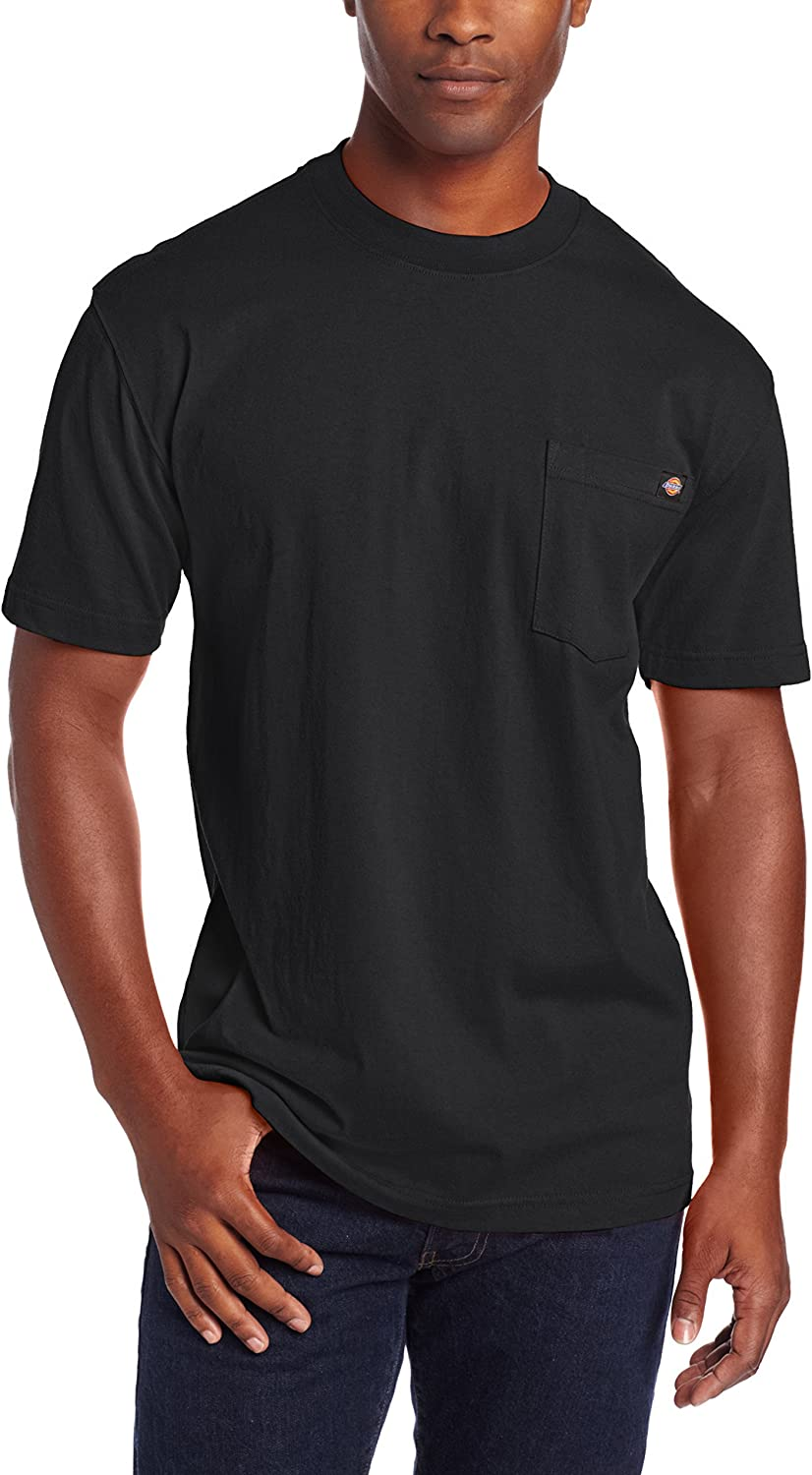 Dickies Men's Heavyweight Crew Neck Short Sleeve Tee Big-tall