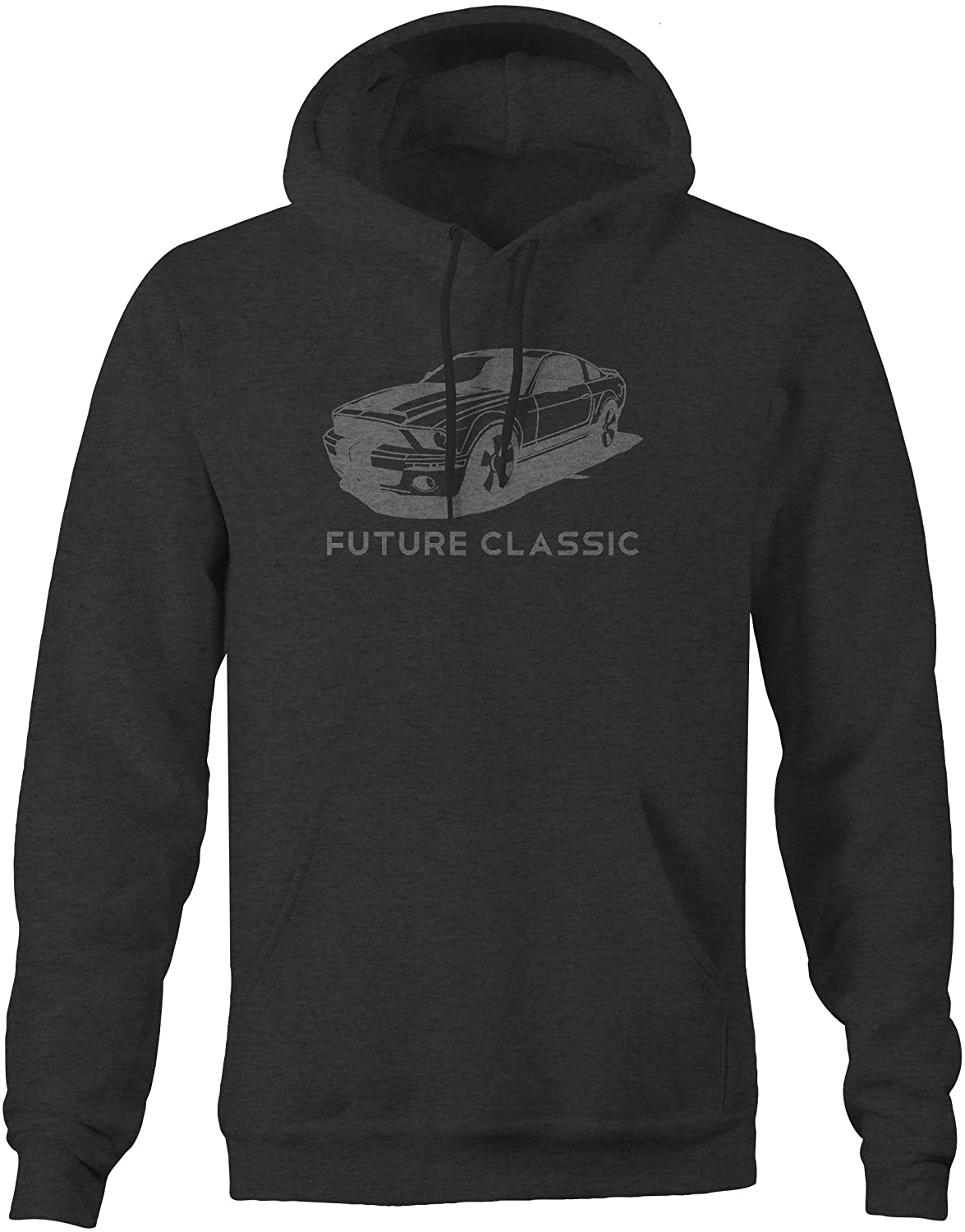 American Muscle Ford Mustang Shelby GT V8 Racing Sweatshirt Xlarge Stealth