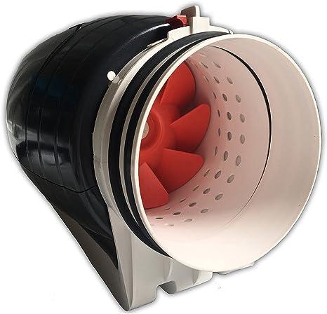 """Hydroponics Fan 4/"""" 6/"""" 8/"""" Indoor Growing Grow Tent Extractor Silent Acoustic"""