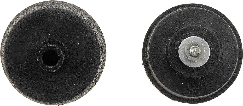 76962 AMC//Chryselor Window Handle Knob Kit Contains 1 Black with Chrome and 1 Black w// Black Knob and Hardware Dorman HELP
