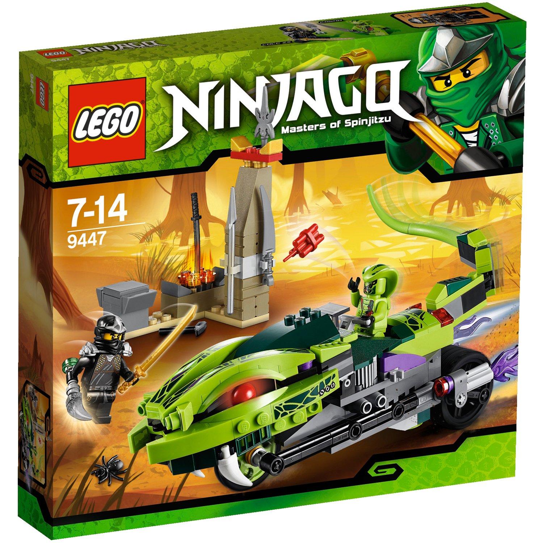 レゴ (LEGO) ニンジャゴー ラシャのヘビヘビサイクル 9447   B006ZSN41S