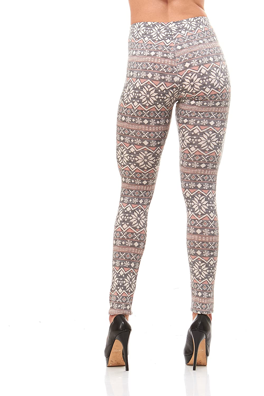 55a13014683fe4 Premium Women's Designed Leggings Winter Warm (Regular and Plus Size) at  Amazon Women's Clothing store:
