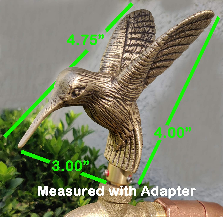 Hummingbird Garden Faucet Handle Universal Outdoor Faucet Handle FESTIVE FAUCETS