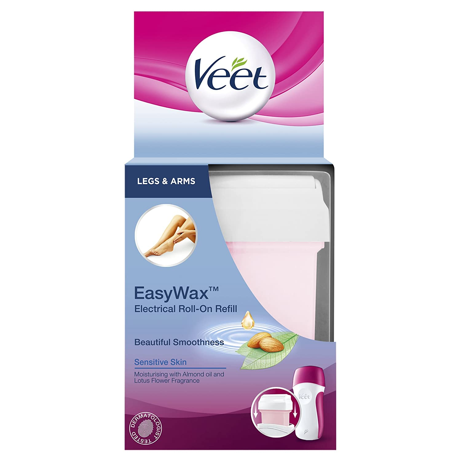Veet 50ml Easy Wax Sensitive Refill Bikini and Underarm HealthCentre 8058128