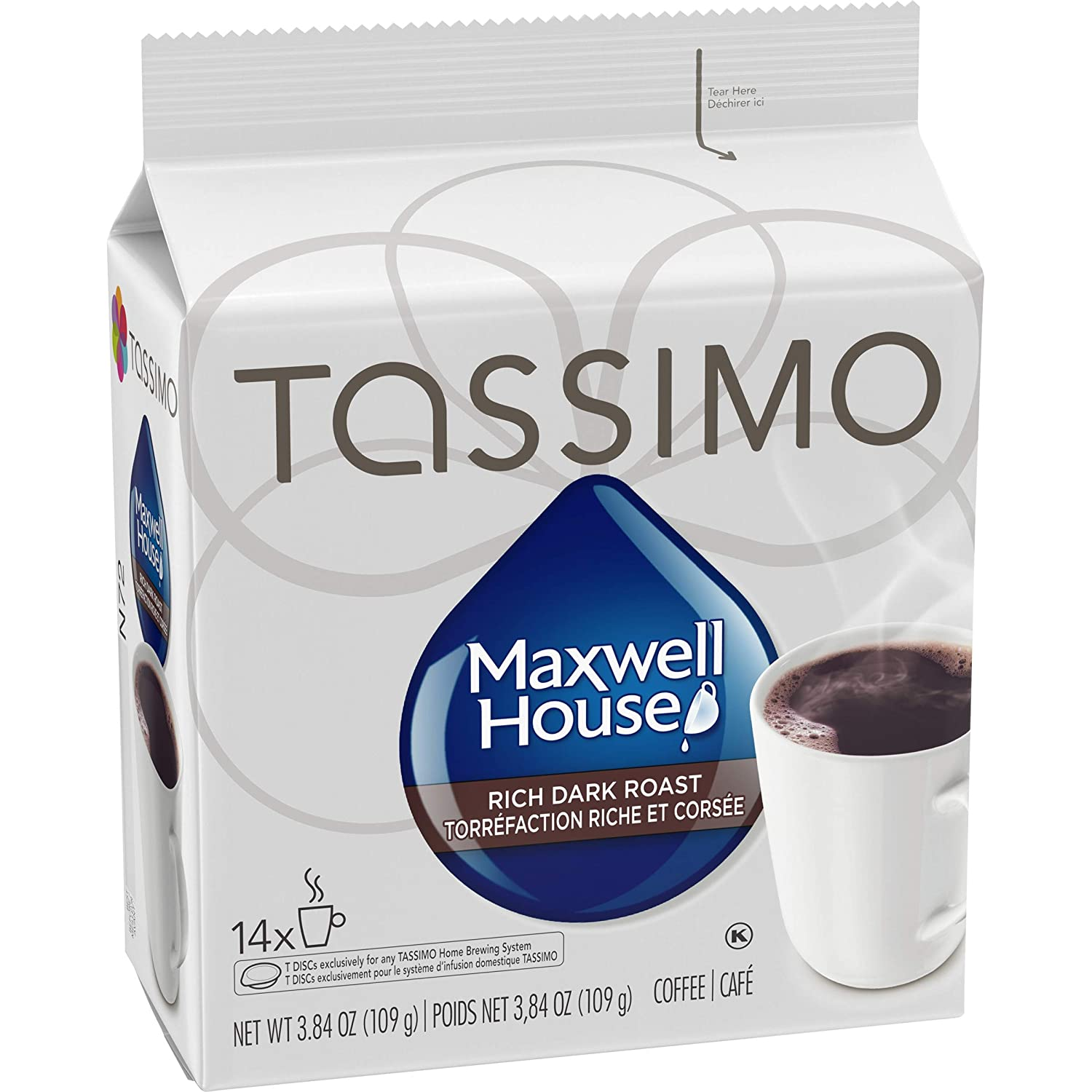 Tassimo Maxwell House Dark Roast – Custom Tuesta Collection ...