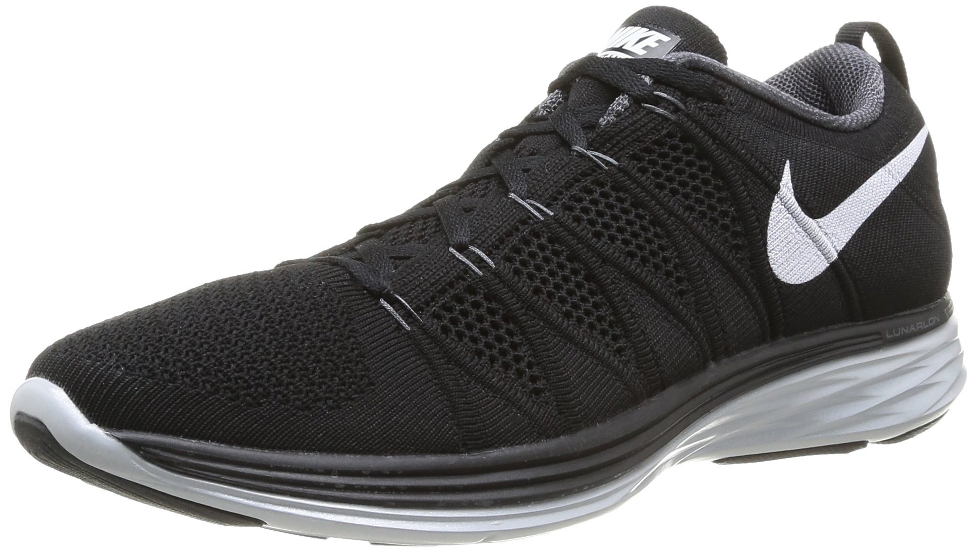 save off fcbff 82b0e Galleon - Nike Flyknit Lunar2 Mens Running Shoes 620465-011 Black 7 M US