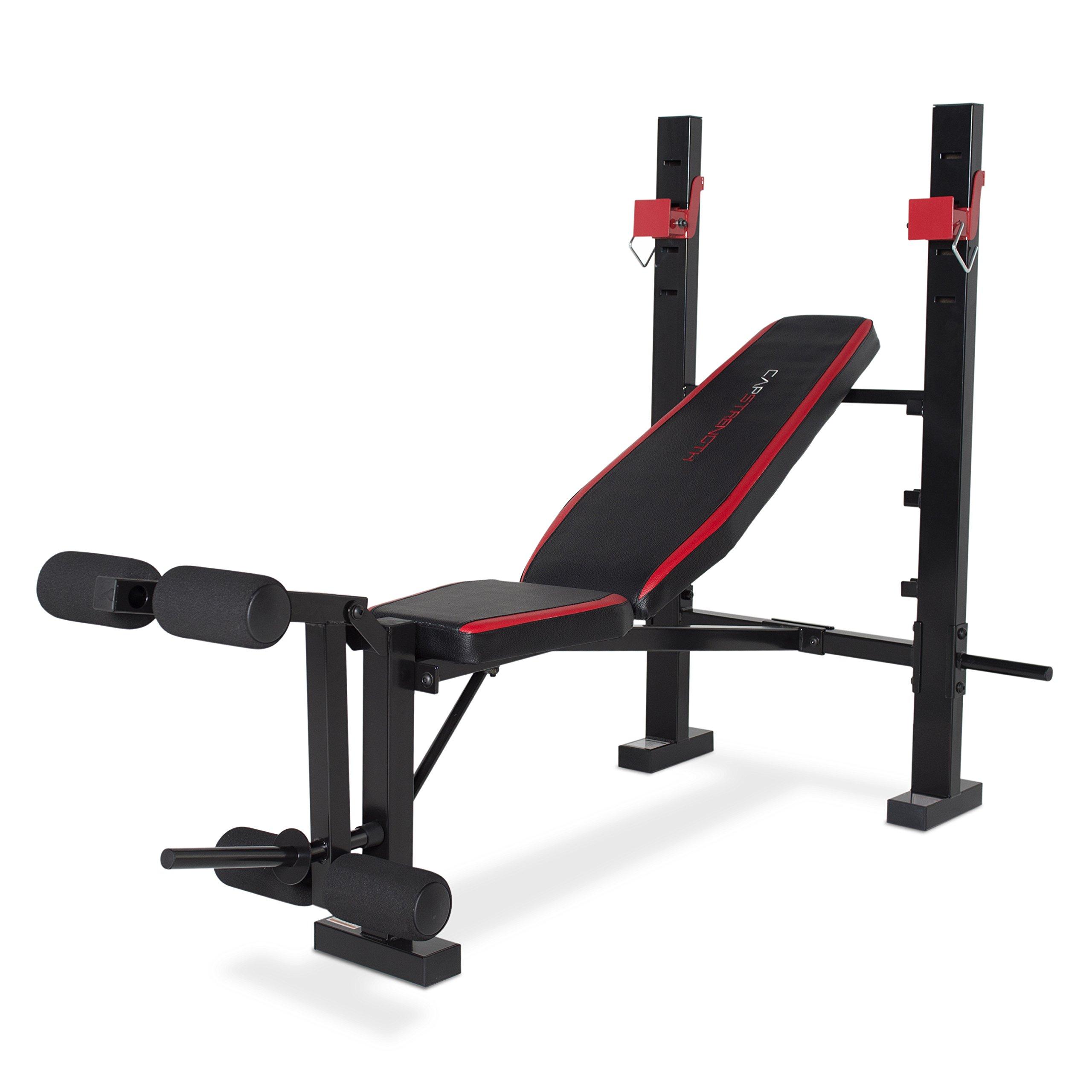 CAP Barbell FM-CS7240 Strength Standard Bench with Leg Developer