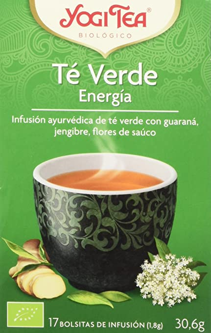 11 opinioni per Yogi Tea Tè Verde Energia- 30.6 gr